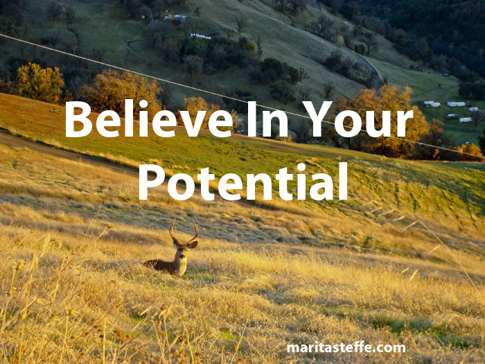believe in your potential