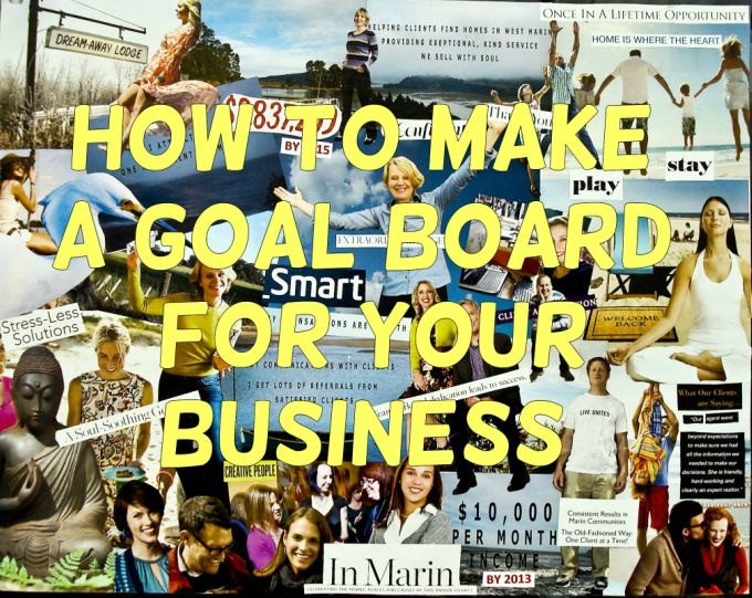 How to make a goal board for your business