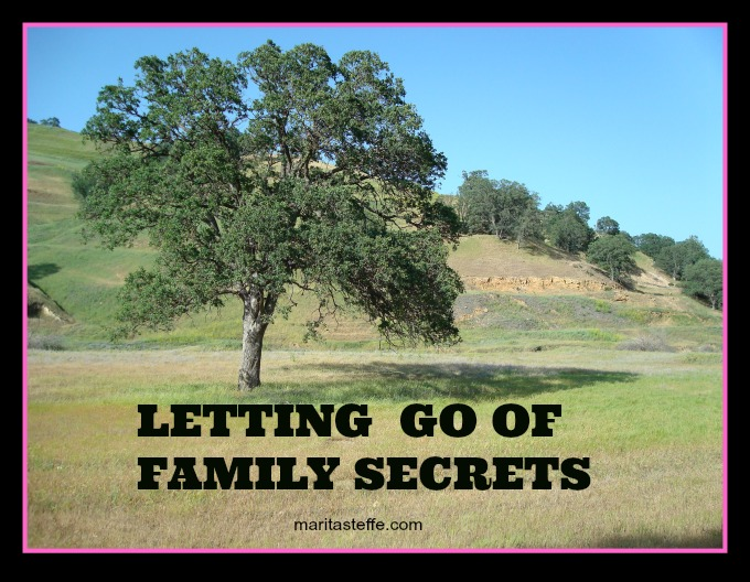 letting go of family secrets