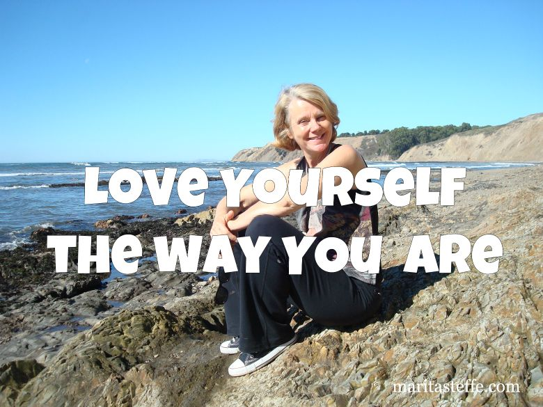 love and accept yourself the way you are