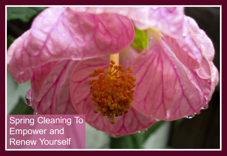 Spring Cleaning To Empower and Renew Yourself