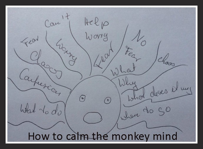 how to calm the monkey mind