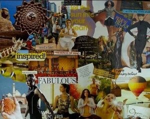 lifestyle vision board