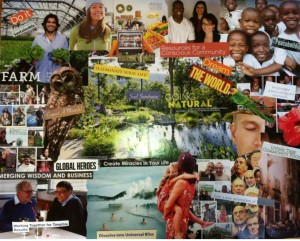 new world vision board